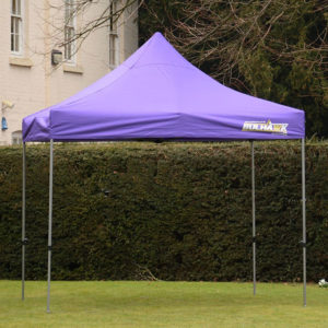 gazebo 3m x 3m garden purple