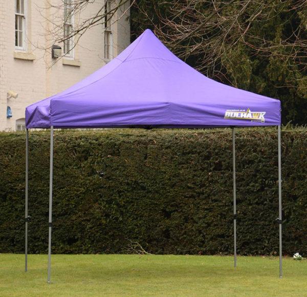 gazebo 3m x 3m garden purple