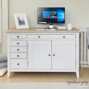 Signature Hidden Home Office Desk