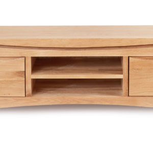 Roscoe Contemporary Oak Widescreen TV Cabinet