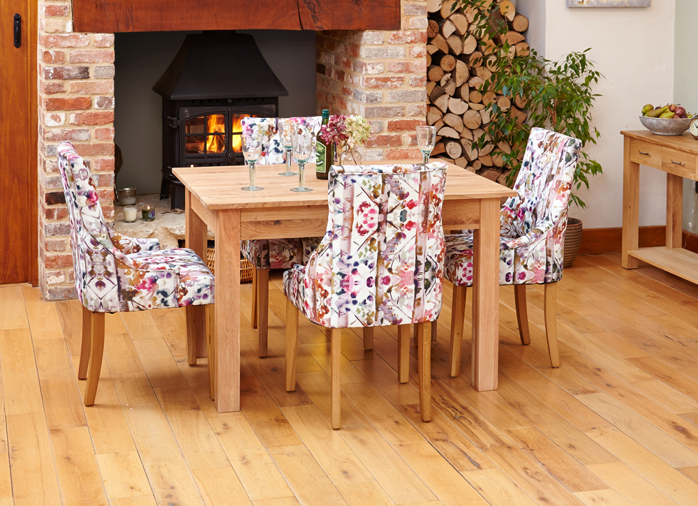 mobel oak dining table 4 seater