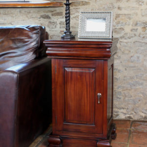 La Roque Lamp Table / Pot Cupboard
