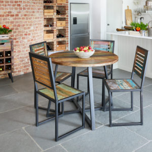 Urban Chic Round Dining Table  (100cm x 100cm)