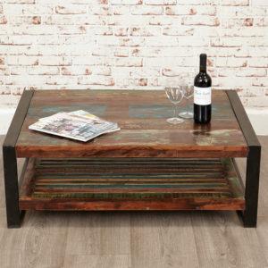 Urban Chic Rectangular Coffee Table