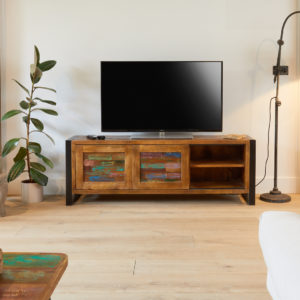 Baumhaus Urban Chic Widescreen Television Cabinet