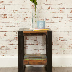 Urban Chic Low Plant Stand / Lamp table