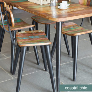 Coastal Chic Dining Chair (Pack of two)