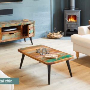 Coastal Chic Coffee Table
