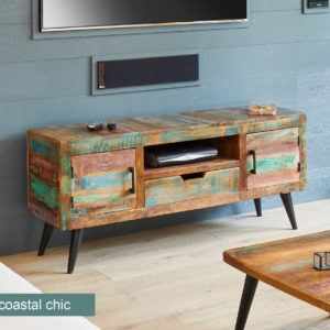Coastal Chic Widescreen TV Cabinet