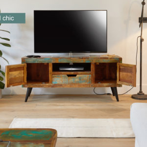 Coastal Chic Widescreen TV Cabinet 2