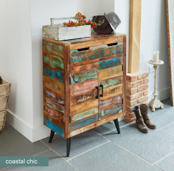 Coastal Chic Shoe Cupboard