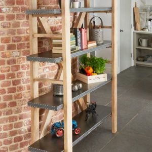 Kuba Large Open Bookcase