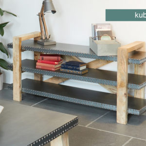 Kuba Low Bookcase / Sideboard