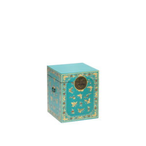 The Nine Schools Oriental Decorated Blue Trunk