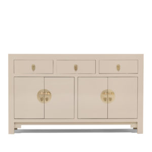 The Nine Schools Qing Oyster Grey Large Sideboard