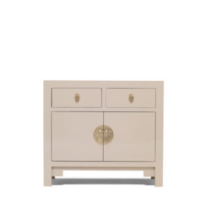 The Nine Schools Qing Oyster Grey Medium Sideboard